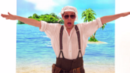 Mr Baffled Dancing in Blue Sky Sunshine Day (The Go!Go!Go! Show, Nick Jr.)