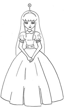 File:Princess bubblegum line art by xyukicrossx-d612v91.jpg