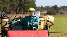 Golf pesticides
