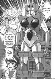 Getter Queen Devilman Vs Getter Robo Manga