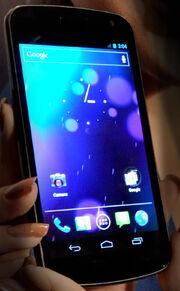 Galaxy Nexus smartphone