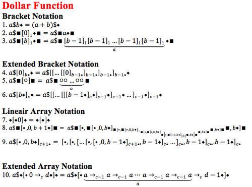 Dollar function 1
