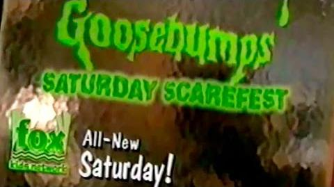 """1996 Goosebumps Promo for """"Be Careful What you Wish For"""""""