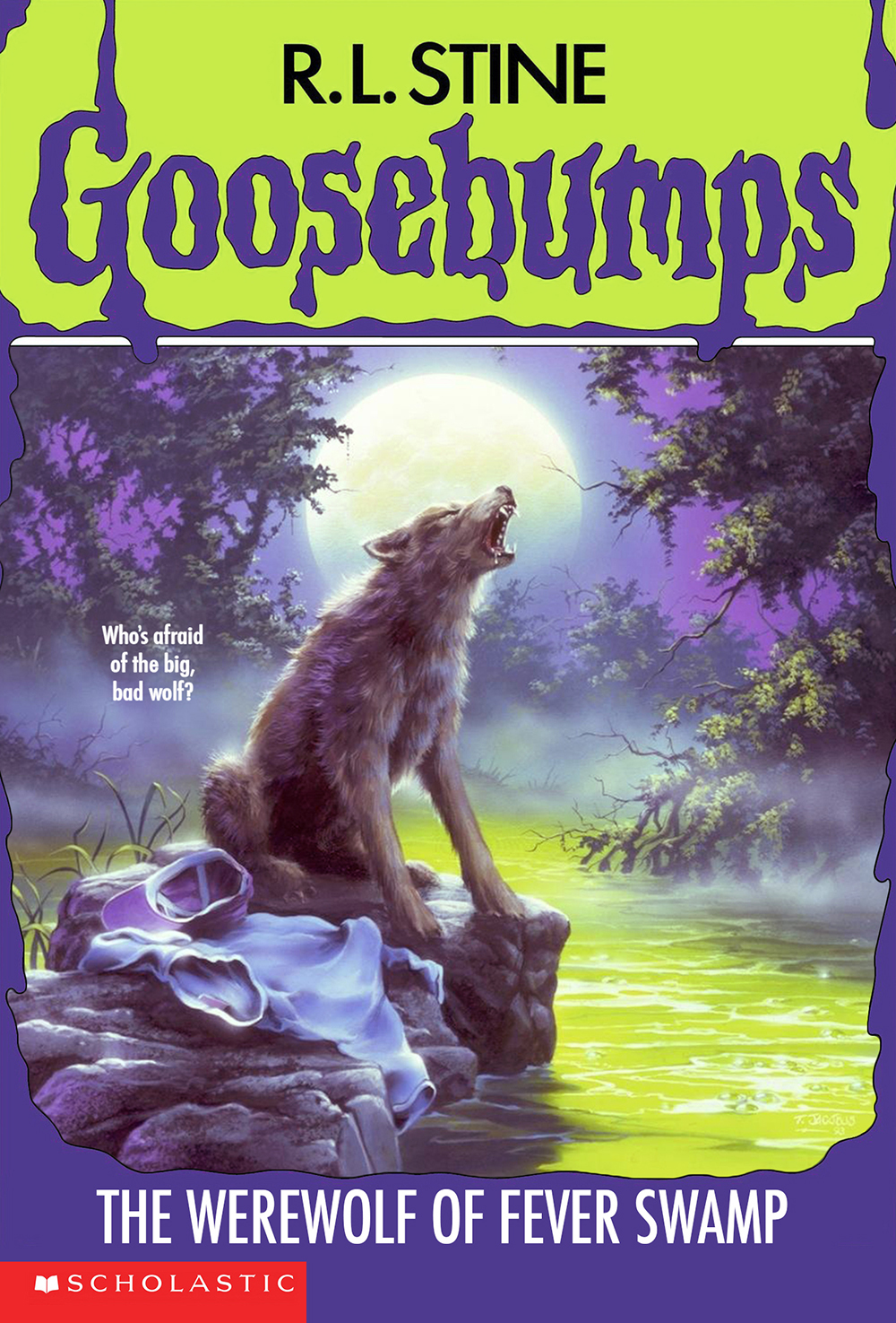 goosebumps the werewolf in the living room image the of fever swamp cover jpg 27231
