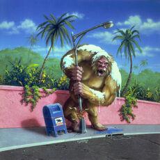 The Abominable Snowman of Pasadena - artwork