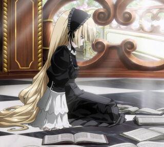 Victorique black dress