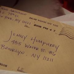Nate's letter to Jenny