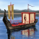 Courtesean Barge