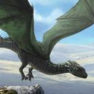 Adolescent Green Dragon