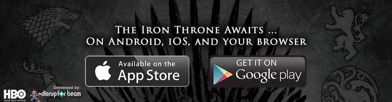 App - iOS iPad and Android Banner