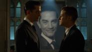Theo and Jim staredown