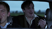 Cobblepot telling the two guys who had picked him up that his luck was already changing for the better