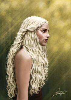 Daenerys targaryen by sabrane-d45j2xt