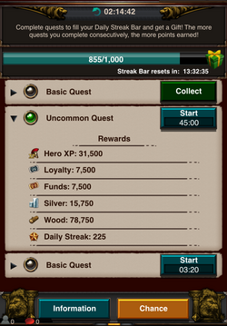 Quest Interface