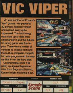 Vic viper (game)