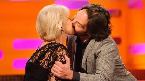 Paul Rudd kisses Dame Helen Mirren - The Graham Norton Show - Series 12 Episode 14 Preview - BBC One