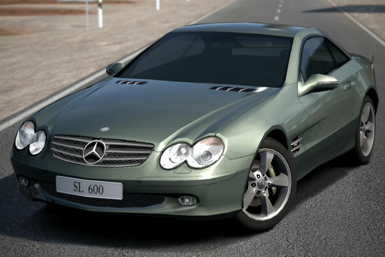 MercedesBenz SL 600 R230 04  Gran Turismo Wiki  Fandom