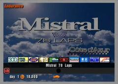 Mistral 78 Laps
