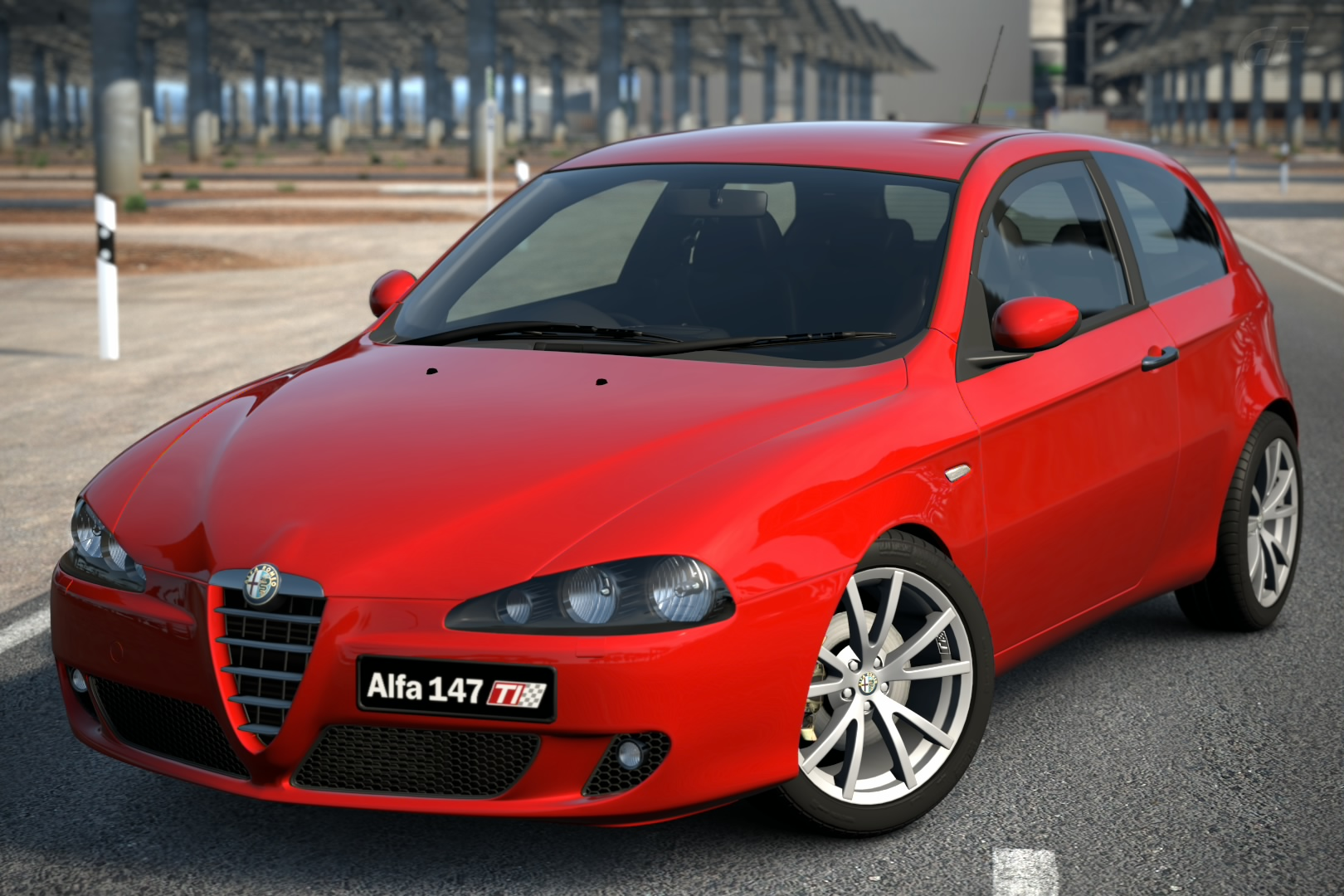 alfa romeo 147 ti 2 0 twin spark 39 06 gran turismo wiki fandom powered by wikia. Black Bedroom Furniture Sets. Home Design Ideas