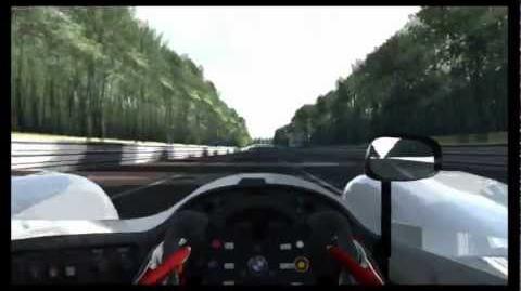 Gran Turismo 5 BMW V12 LMR Race Car '99 Circuit de la Sarthe 2009 HD