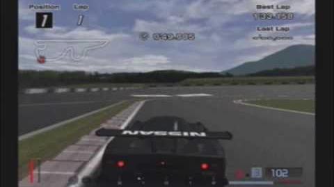 Gran Turismo 4- Gran Turismo 4 - Nissan R390GT1 Race Car (Black) '98