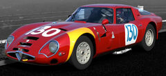 Alfa Romeo GIULIA TZ2 carrozzata da ZAGATO '65