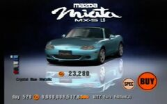 Mazda MX-5 Miata 1800 RS (NB, J) '00