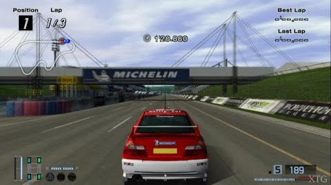 Gran Turismo 4 - Mitsubishi Lancer Evolution VI Rally Car HD PS2 Gameplay