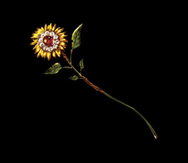 Sunflower Wand