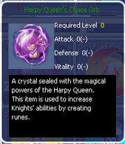 Harpy Queen's Chaos Orb