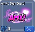 AmySignBoard