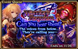 Warrior's Requiem Banner