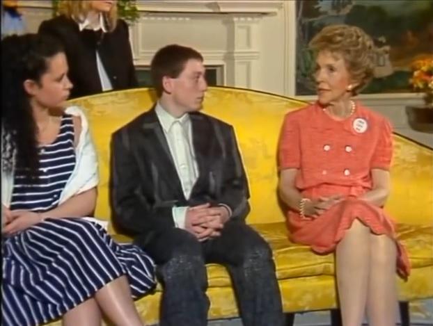 File:Grange Hill Cast with Nancy Reagan.jpg