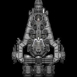 Rebel Valkyrie Cruiser