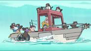 S1e2 beavers attack boat