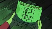 S2e11 secret code