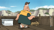 S1e2 soos posing as bigfoot
