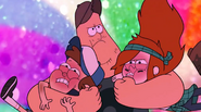 S2e19 Dipper and Wendy can't breathe