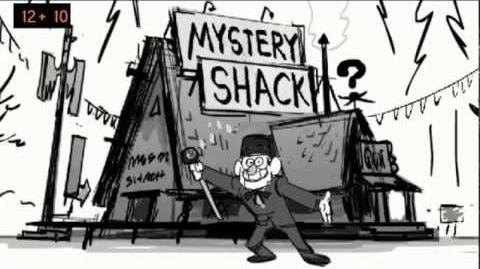 Gravity Falls Main Title Theme animatic