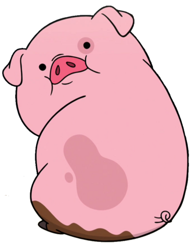 File:S1e18 - Waddles - Transparent .png