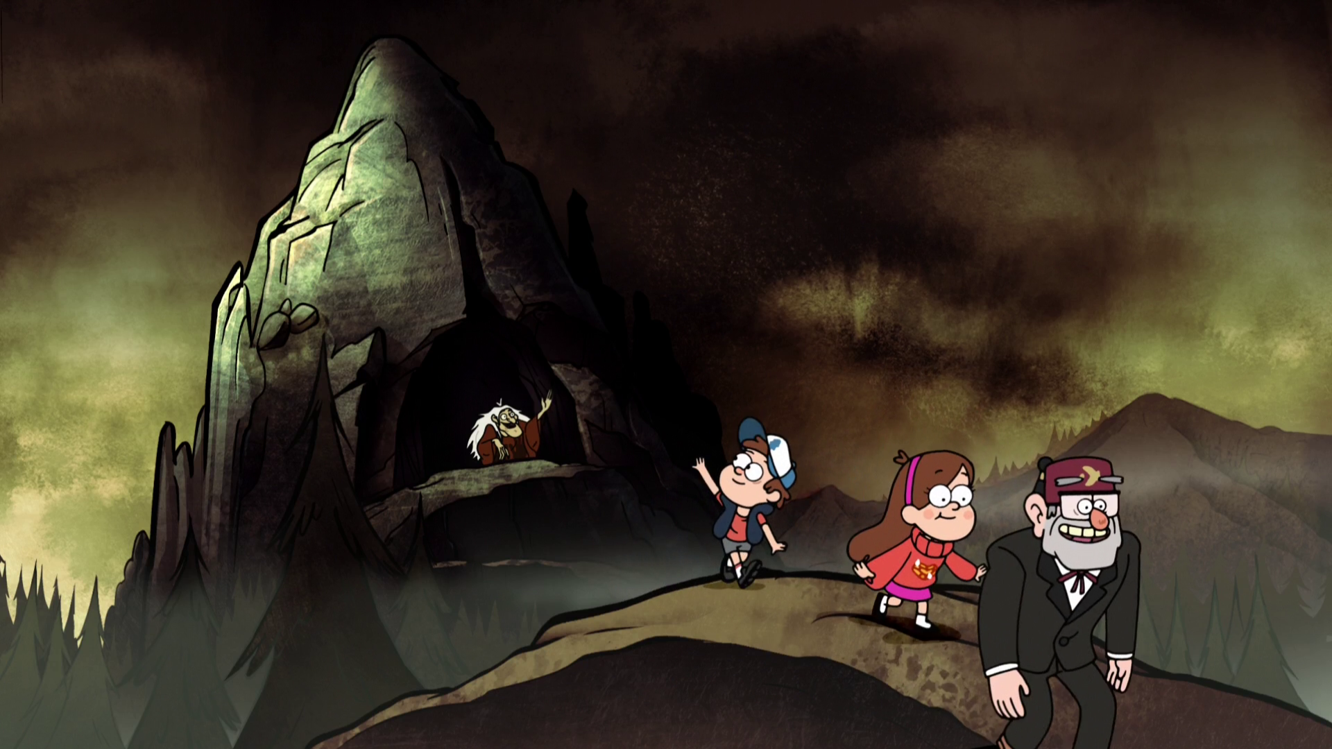 Hand Witch Mountain Gravity Falls Wiki Fandom Powered