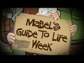 Gravity Falls - Mabel's Guide to Life Week - Preview