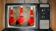 Conspiracy Corner evil cones