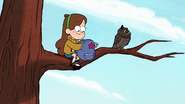 Short7 mabel in tree