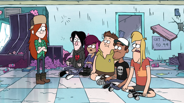 File:S1e5 the gang wonders what happened.png