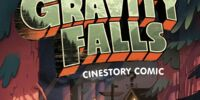 Gravity Falls Cinestory Comic