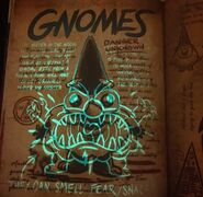 Journal 3 Special Edition Gnome Page