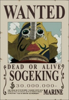 Usopp's Wanted Poster