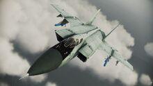 MiG-31B Foxhound flyby 1