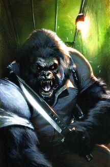 Gorilla Man Vol 1 3 Textless